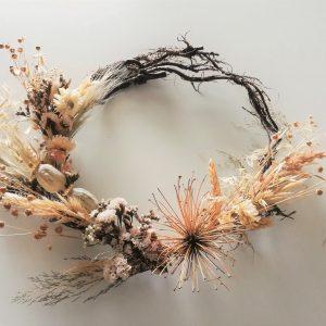 couronne-branche-fleursséchées