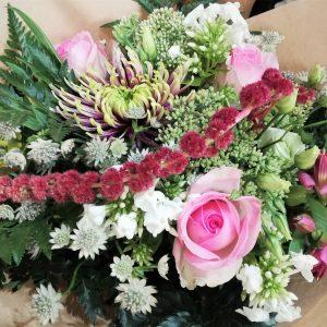 bouquet-amaranthe-rose