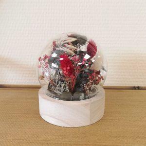 globe fleuri