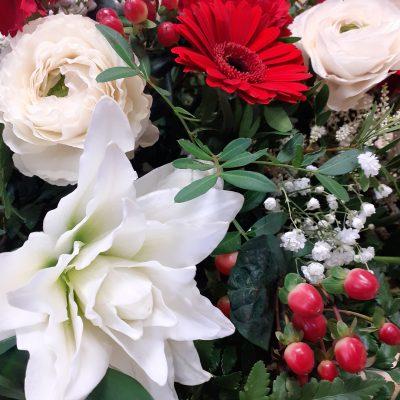 fleurs gerbe l'agur