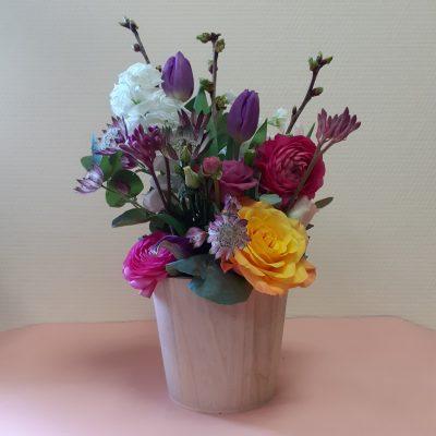 composition florale amédée