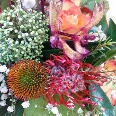composition florale odette