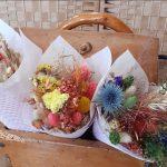 mise en scène bouquet sec